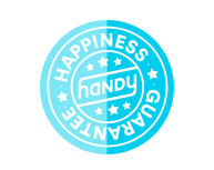 Backed by the Handy Happiness Guarantee