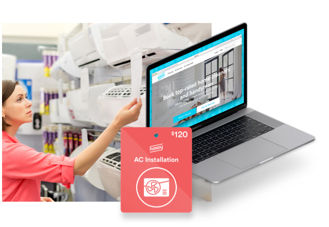 Customers can easily purchase assembly services online or in-store