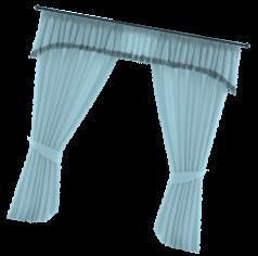 Parallax curtain